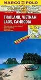 Thailande Vietnam Laos Cambodge, carte routiere
