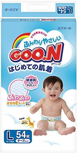 panales-japoneses-goon-l-9-14-kg-japanese-diapers-nappies-goon-l-9-14-kg-goon-l-9-14-kg