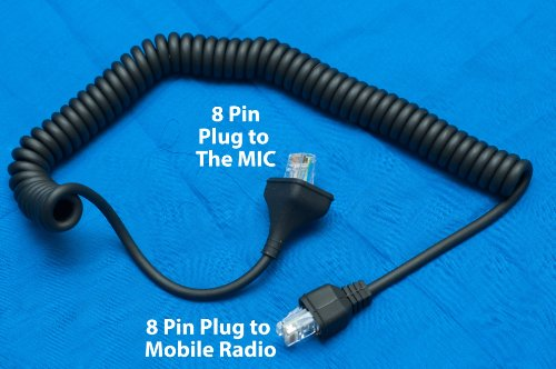 Replacement Cable 8 Pin Plug For Kenwood Kmc-30 Mobile Microphone Tk-7100 Tk-7150 Tk-7160 Tk-7180 Tk-760 Tk-760G Tk-762 Tk-762G Tk-763 Tk-763G Tk-768 Tk-768G Tk-780 Tk-780G Tk-785 Tk-8185 Tk-8150 Tk-8160 Tk-8180 Tk-8100 Tk-860 Tk-860G Tk-862 Tk-862G Tk-86