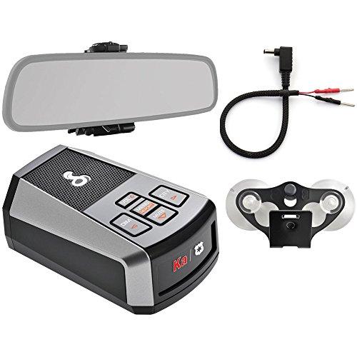 Cobra DSP9200BT Bluetooth Digital Laser & Radar Detector with DSP Digital Signal Processing Worlds Smallest Radar Detector Includes Mirror Mount and Mirror Wire