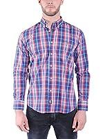TIME OF BOCHA Camisa Hombre (Azul Royal / Rojo)