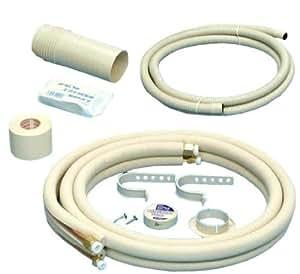 奥村金属 エアコン用配管セット 【2分×4分】 フレア加工済み 3m D-243