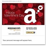 Amazon Gift Card - E-mail - Happy Valentine's Day