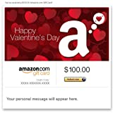 Amazon Gift Card - E-mail - Happy Valentine's Day ~ Amazon
