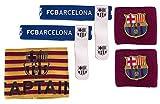 Barcelona FC Accessory Set - Wristbands / Sockties & Captain Armband