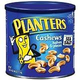 Planters-Cashews Halves/Pieces, 46 oz. canister (4 Pack)