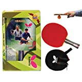 Butterfly 302 Shakehand Table Tennis Racket