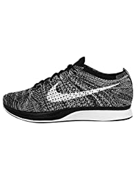 Nike Flyknit Racer Oreo Black White Mens Running Shoes