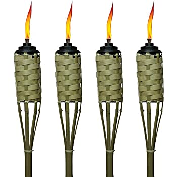 Bamboo Torches - 4 pack