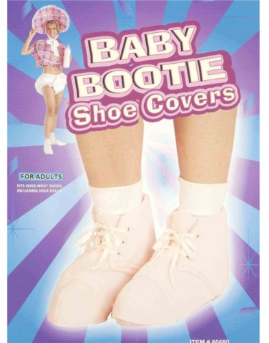 Forum Novelties Baby Bootie Shoe Covers - Pink - 1