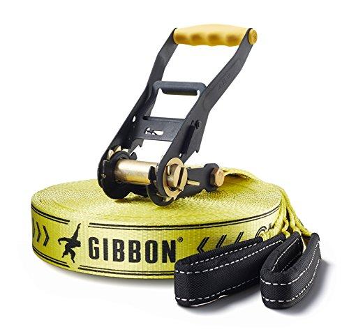 Gibbon, Set Slackline Classic X13 Xl Tree Pro, Giallo (gibbon gelb)