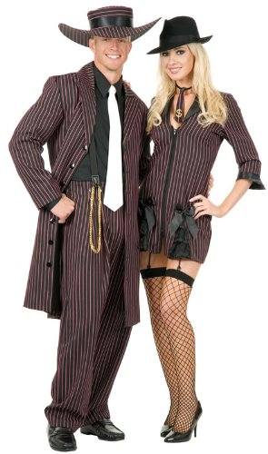 Charades Costumes Men's Zoot Suit /Red Adult Costume