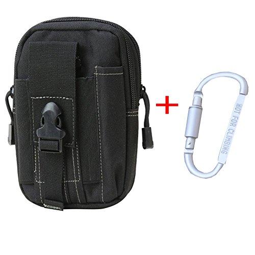 Multi sacchetto di sport, viaggi, escursioni, arrampicate, hip confezione contenente vari modelli per esterno (schwarz)
