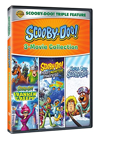 DVD : Scooby-Doo! Frankencreepy / Scooby-Doo! Moon Monster Madness / Scooby-DooChill Out (3 Disc)