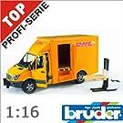 bruder ブルーダー 02534 MB DHL&フォークリフト 1/16