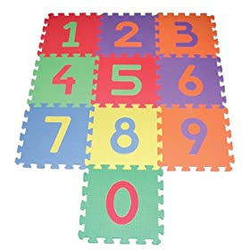 Edushape Edu Tiles - 10 Piece Set