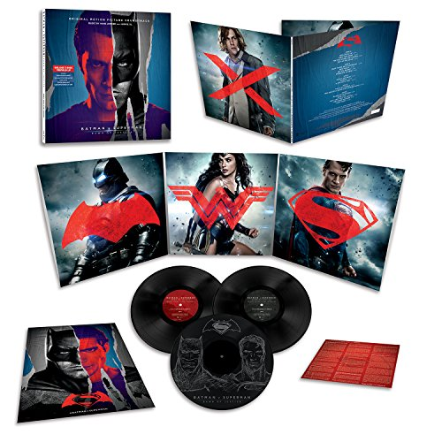 Batman v Superman: Dawn Of Justice- Original Motion Picture Soundtrack [3 LP] at Gotham City Store