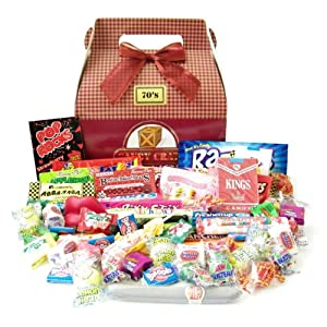 Candy Crate 1970's Retro Candy Gift Box $8.77
