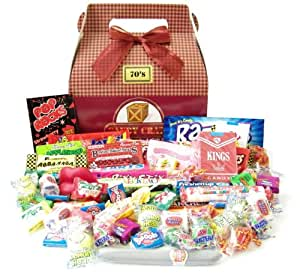 Candy Crate 1970's Retro Candy Gift Box
