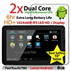 FastTouch(TM) 10 Google Android 8GB Tablet PC, Android 4.4, Dual Cortex-A9, 1.2GHz, Dual Camera, WiFi, Capacitive Multi-Touch Screen, Very Fast & Slim, Comes Ready To Go With All The Latest Apps, FastTouch(TM)