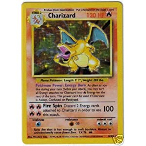 OK what were the odds of getting a Charizard in the original