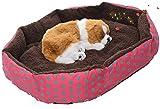 Personalizedco-Pequeño interior suave Mascotas Perro Gato Cachorro cama caliente Casa Mat Nido Cojín