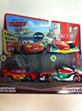 Disney / Pixar CARS 2 Movie Exclusive Lights Sounds 2Pack Lightning McQueen Francesco Bernoulli