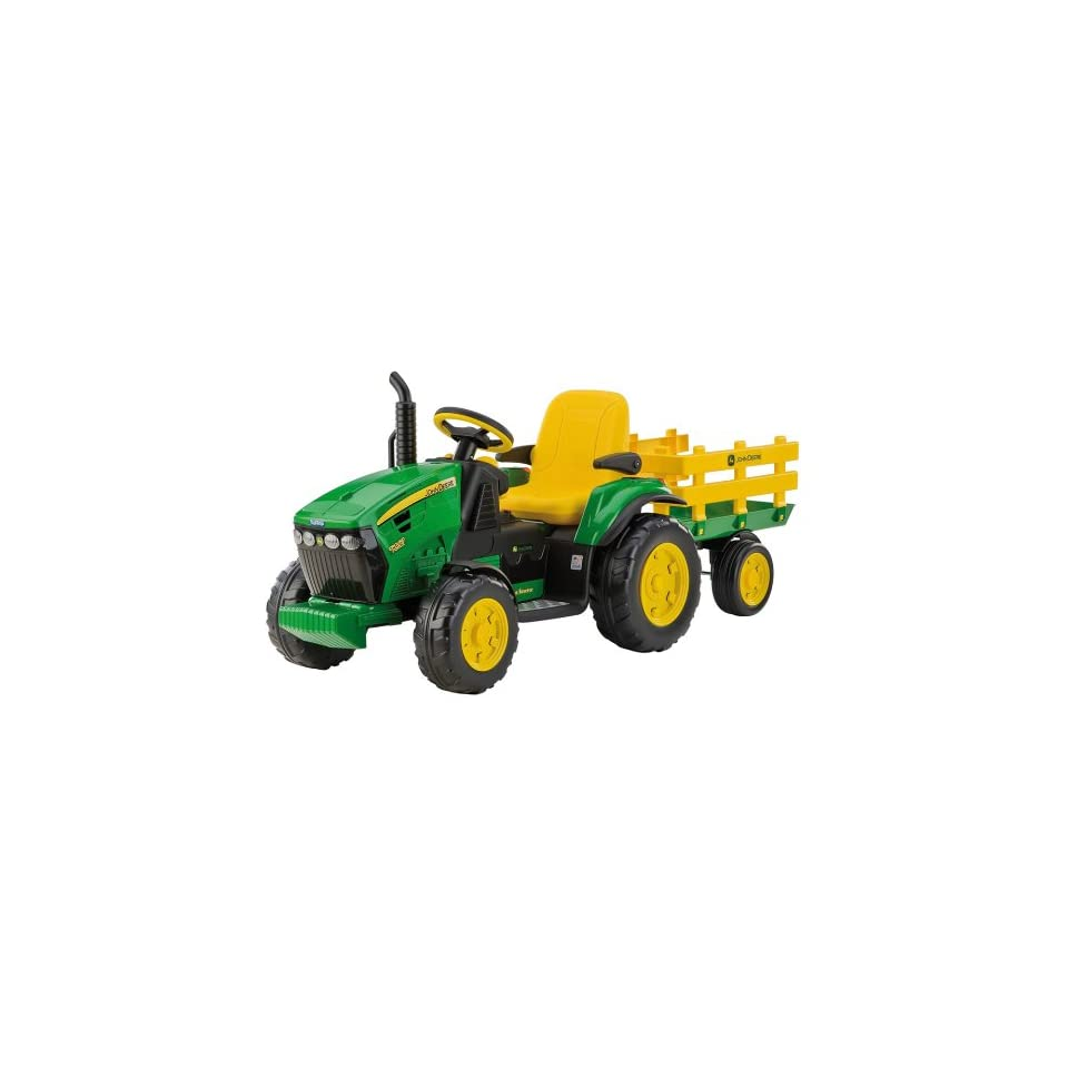 peg perego or0047 elektro traktor john deere 12v lader. Black Bedroom Furniture Sets. Home Design Ideas