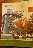 img - for ENGLISH COMPOSITION GUIDE 2015-2016 AUBURN UNIVERSITY AT MONTGOMERY ((PAPERBACK) book / textbook / text book