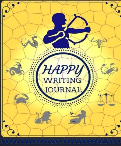 Happy Writing Journal: One Sentence Journal of 12 Zodiacs For Your Memories