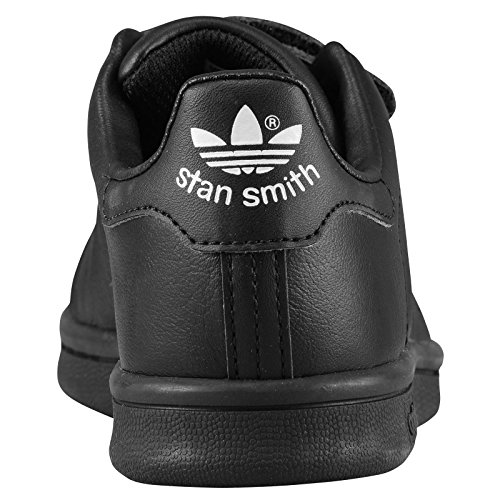 info for 17994 d0142 Adidas Stan Smith Black Black Kids Trainers Kids 2 UK | $35 - Buy today!