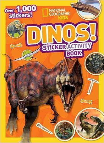 National Geographic Kids Dinos Sticker Activity Book: Over 1,000 Stickers! (NG Sticker Activity Books)