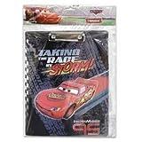 Cars Clip Board - Disneys Lightning Mcqueen Action Scene Clip Board
