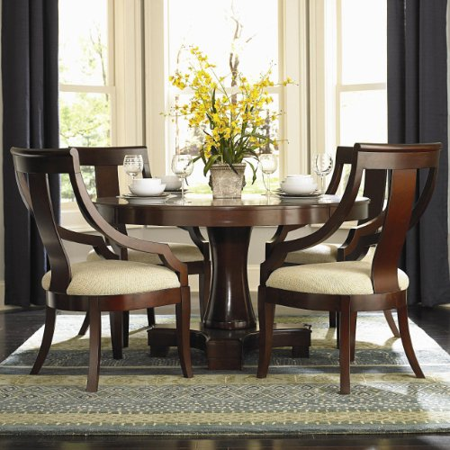 Buy Low Price Coaster Furniture Cresta 5-Pc Dining Table Set by Coaster (101181+4X800494)