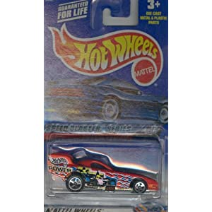 Hot Wheels 2000 037 red FIREBIRD FUNNY CAR SPEED BLASTER SERIES 1 of 4 1:64 Scale Die-cast Collectible Car