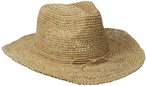 physician-endorsed-womens-little-cayman-raffia-sun-hat-with-memory-wire-in-brim-natural-gold-one-siz