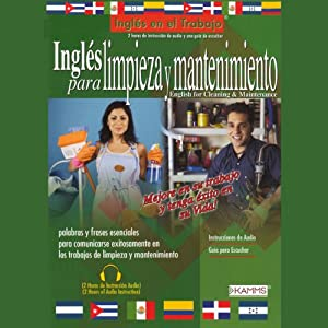 Ingles Para Limpieza Y Mantenimiento (Texto Completo) [English for Cleaning & Maintenance] | [Stacey Kammerman]
