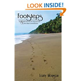 FOOTSTEPS: Poetic reflections on the opposite sex and Life's other contradictions.