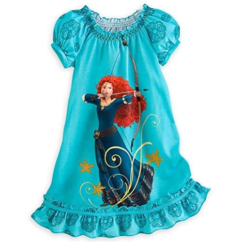 Disney Store Princess Brave Merida Nightgown Pajama Girl Size M /78 front-91183