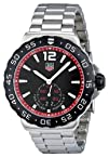 Tag Heuer Mens WAU1114.BA0858 Formula 1 Black Dial Dress Watch
