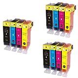 インク 【互換インク】 キャノン canon キヤノン BCI-7e 9 4MP 4色セット×3 pixus MP520 MP510 MP500 iP3300 iX5000 カートリッジ プリンターインク 汎用インク インクカートリッジ 純正 汎用