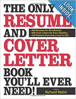 The Only Resume and Cover Letter Book Youll Ever Need