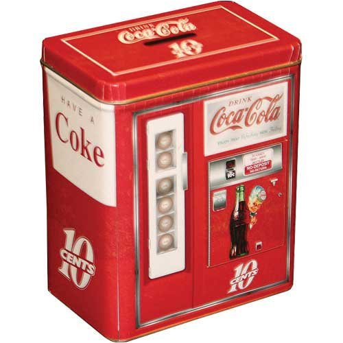 Buy Coca Cola® Vending Machine Tin Bank