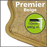 Daihatsu Copen 2003 to Current Premier Beige Tailored Floor Mats