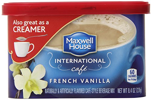 Maxwell House International French Vanilla Latte, 10.1 Ounce