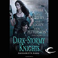 Dark and Stormy Knights (       UNABRIDGED) by Ilona Andrews, Jim Butcher, Shannon K Butcher, Rachel Caine, P. N. Elrod, Deidre Knight, Vicki Pettersson, Lilith Saintcrow, Carrie Vaughn Narrated by Renee Raudman, Joe Barrett, Marc Vietor, Suzanne Toren, David Pittu, Katherine Kellgren, Natalie Gold, L J Ganser