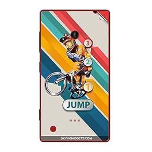 Skin4Gadgets 1 2 3 Jump Phone Skin STICKER for NOKIA LUMIA 720