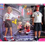 DISNEYLAND Resort Vacation with BARBIE TOMMY KELLY & KEN Gift Set DISNEY EXCLUSIVE (1998)