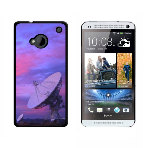 Very Large Array Vla Radar Telescope Dishes New Mexico At Sunset - Snap On Hard Protective Case For Htc One 1 - Black