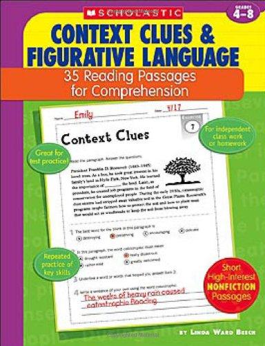 Context Clues & Figurative Language: 35 Reading Passages for Comprehension